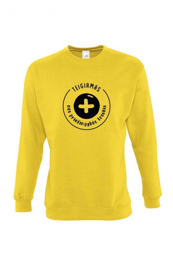 geltonas teigiamas