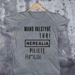 Pilki marškinėliai VAI-Recovered