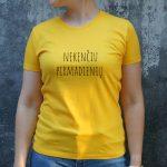 Geltoni marškinėliai MOT-Recovered