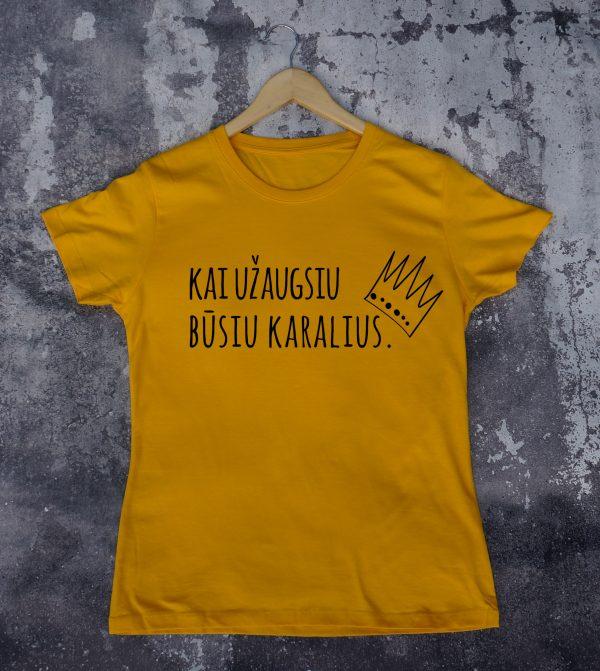 Geltoni marškinėliai VAI-Recovered