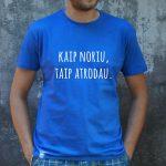Mėlyni marškinėliai VYR-Recovered