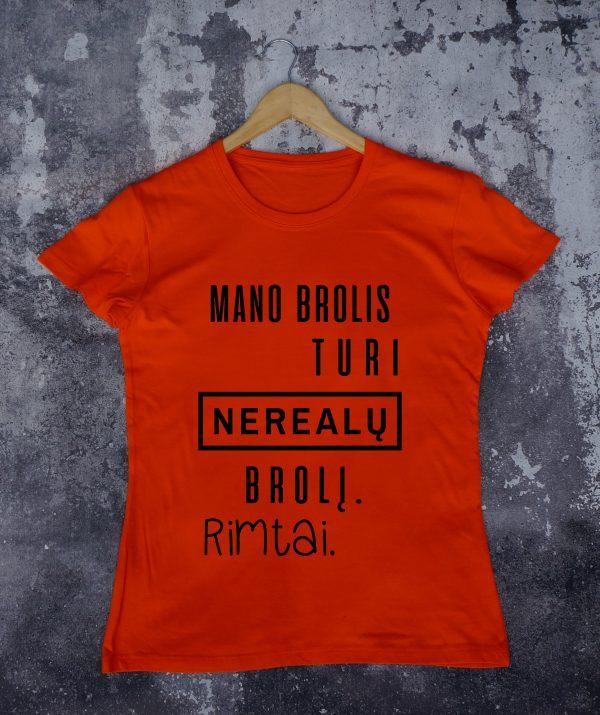 Oranžiniai marškinėliai VAI