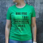 Zali marškinėliai MOT