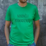 Zali marškinėliai VYR-Recovered