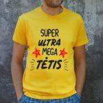 Geltoni marškinėliai VYR