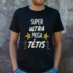 Juodi marškinėliai VYR