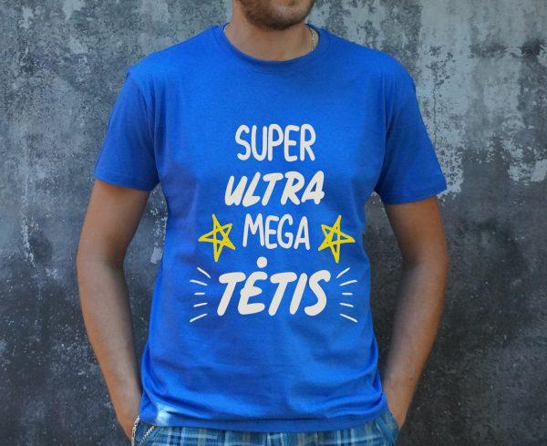Mėlyni marškinėliai VYR