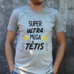 pilki marškinėliai VYR