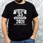 originalūs marškinėliai 35 gimtadieniui