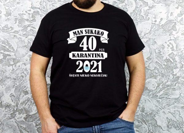 originalūs juodi marškinėliai gimtadienio proga
