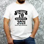 originalūs balti marškinėliai gimtadienio proga