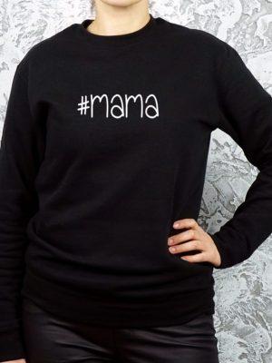 džemperis su užrašu mama