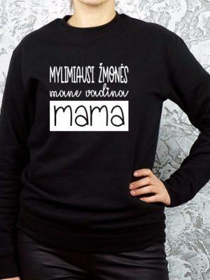 dovana mamai džemperis su užrašu