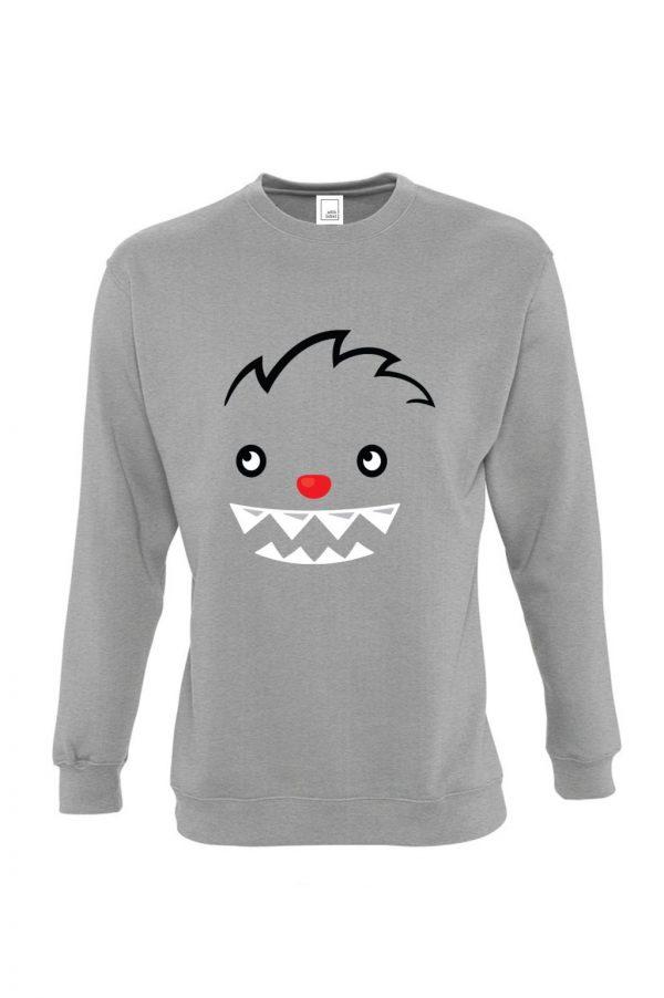 pilkas vaikiškas džemperis berniukui