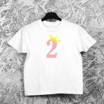 Vaikiški gimtadienio marškinėliai