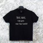 Vyriški marškinėliai su užrašu tėvo dienos proga