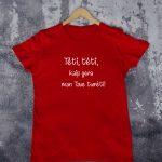 Vaikiški marškinėliai tėvo dienos proga