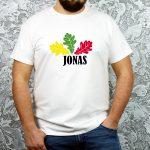 Marškinėliai su spauda Jonui Joninių proga