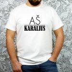 Balti_vyriški_marškinėliai_Aš_karalius[1]