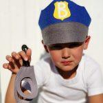 Vaikiškas policininko rinkinys