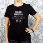 Motyvaciniai juodi marškinėliai Tu esi daugiau nei šis testas