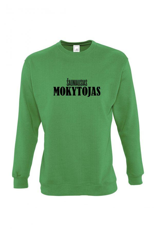 Žalias džemperis Šauniausias mokytojas