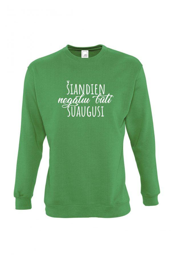 Žalias džemperis Šiandien negaliu būti suaugusi